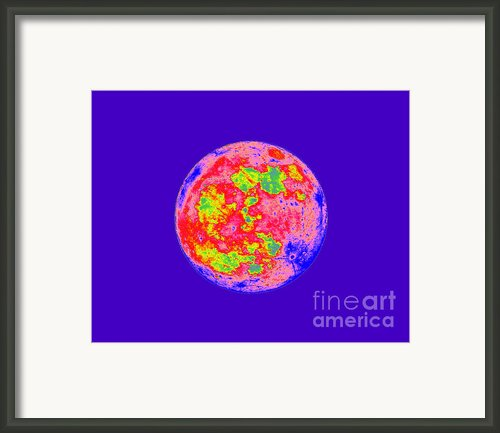 Moody Moon Framed Print By Al Powell Photography Usa