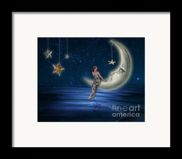 Moon Goddess Framed Print By Juli Scalzi