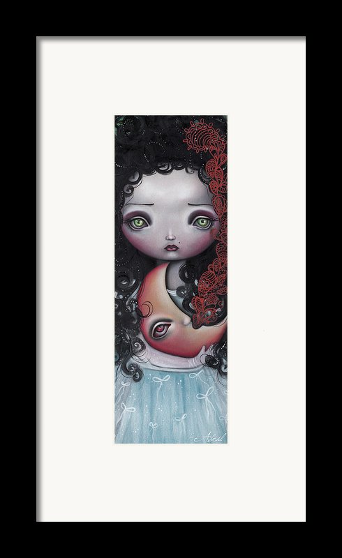 Moon Keeper Framed Print By  Abril Andrade Griffith