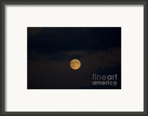 Moon Rising 07 Framed Print By Thomas Woolworth