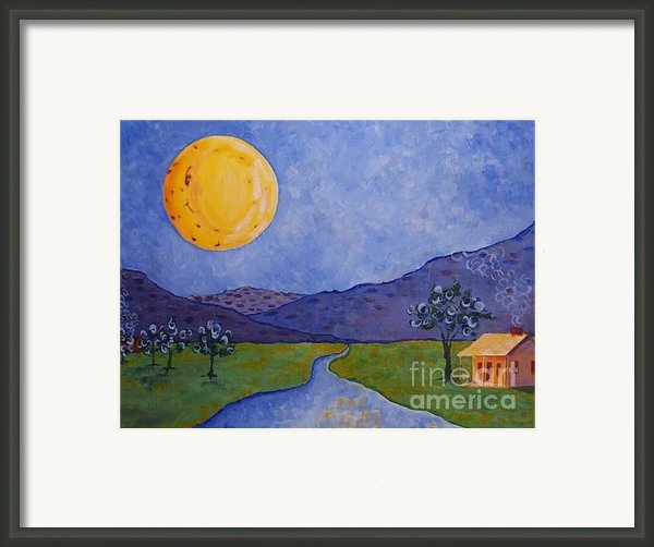 Moon River Framed Print By Susan Williams