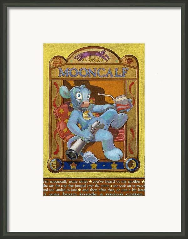 Mooncalf Framed Print By J L Meadows