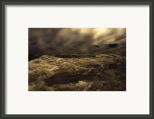 Moonlight On The Water Framed Print By Bob Orsillo