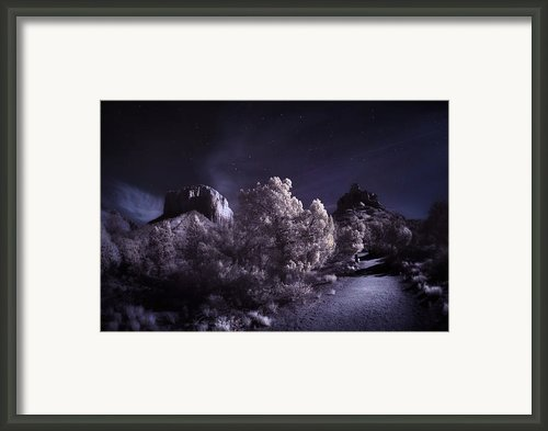 Moonlight Trail Framed Print By Sean Foster