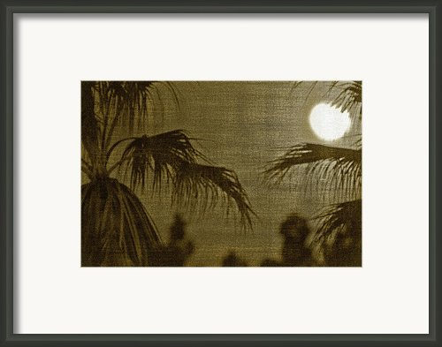 Moons Glow Framed Print By Gilbert Artiaga