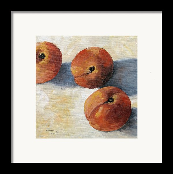 More Georgia Peaches Framed Print By Torrie Smiley