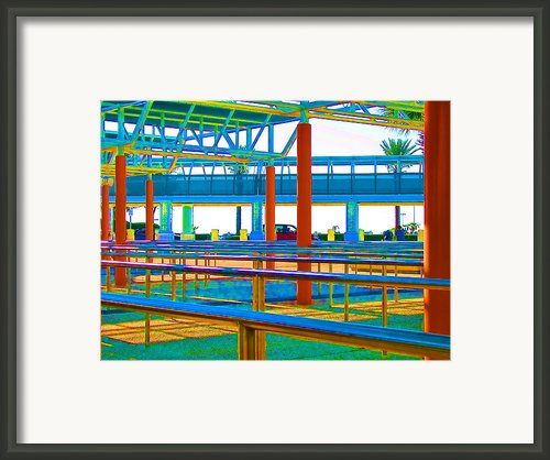More Lines In Colors Framed Print By Wendy J St Christopher