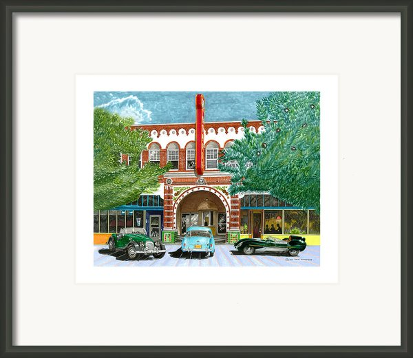 Morgan M G A  Lotus Rio Grand Theater Framed Print By Jack Pumphrey