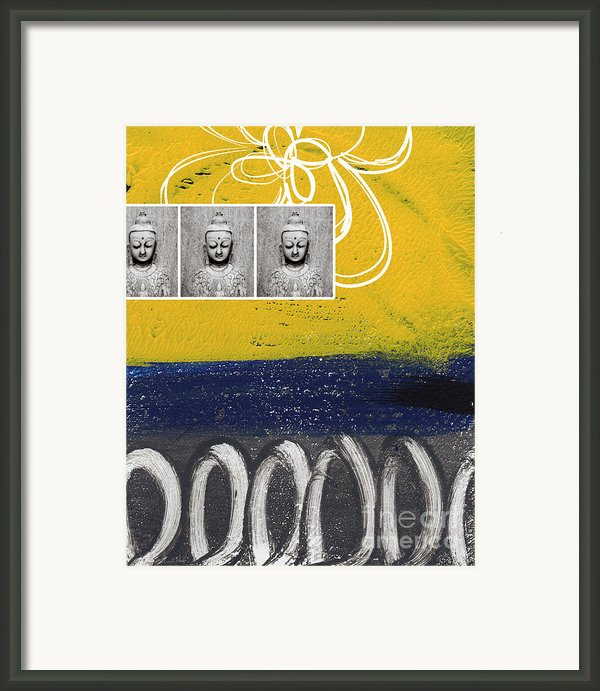 Morning Buddha Framed Print By Linda Woods