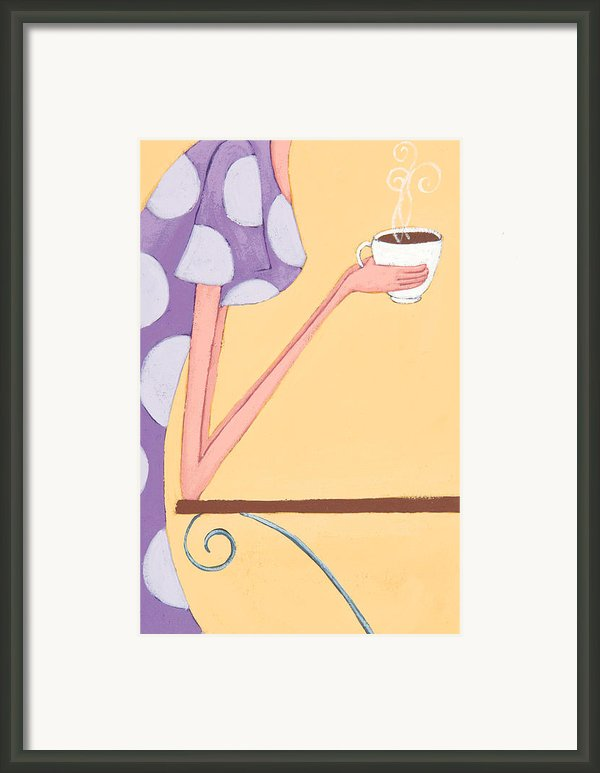 Morning Coffee Framed Print By Christy Beckwith
