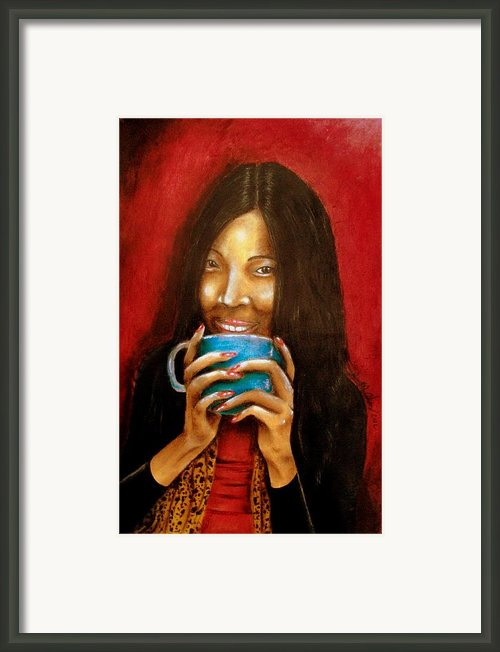 Morning Coffee Framed Print By Michael Alvarez