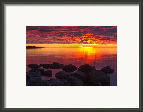 Morning Glow Framed Print By Mary Amerman