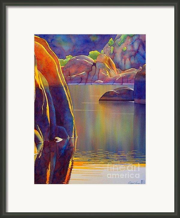 Morning Glow Framed Print By Robert Hooper