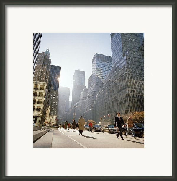 New York City Dawn Framed Print By Shaun Higson