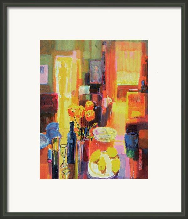 Morning In Paris Framed Print By Martin Decent