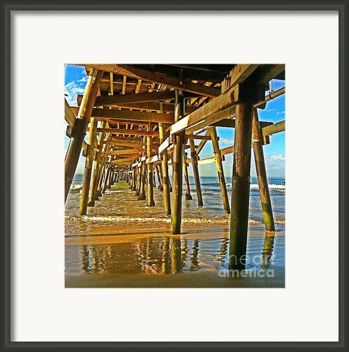 Morning Light During Low Tide Framed Print By Traci Lehman