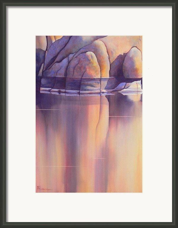 Morning Reflection Framed Print By Robert Hooper