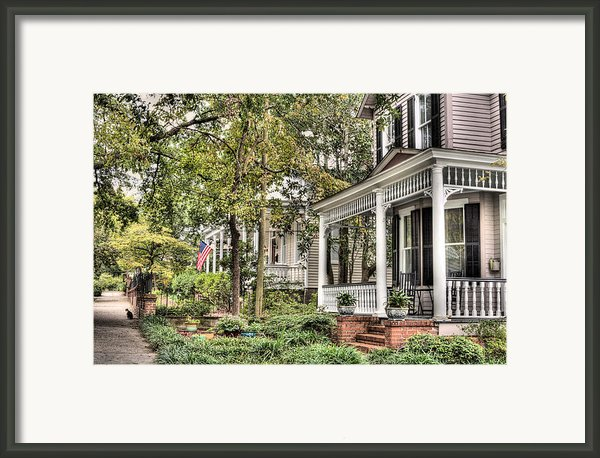 Morning Stroll Framed Print By Jc Findley