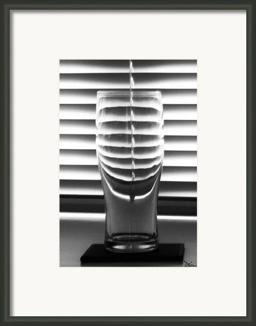 Morphed Reflection Framed Print By Peggy Dietz