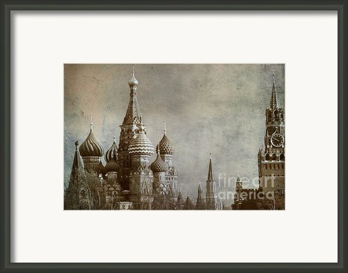 Moscow Framed Print By Bernard Jaubert