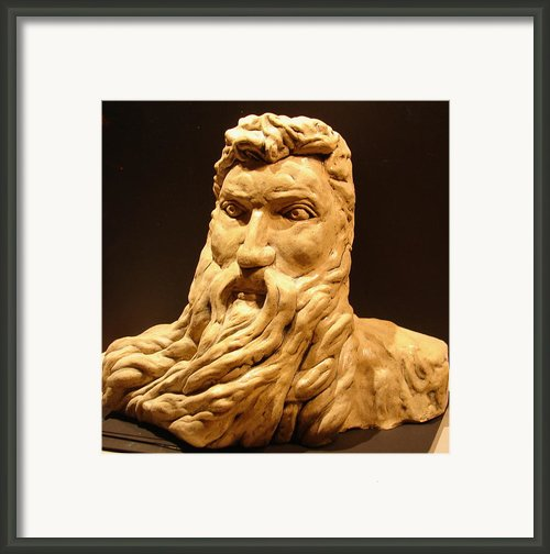 Moses Michel Angelo Framed Print By Joseph Hawkins