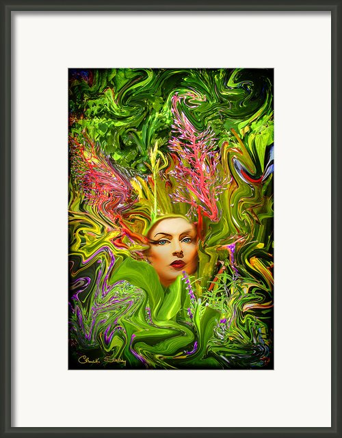 Mother Nature Framed Print By Chuck Staley