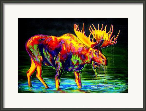 Motley Moose Framed Print By Teshiaart