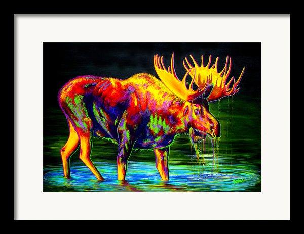 Motley Moose Framed Print By Teshia Art