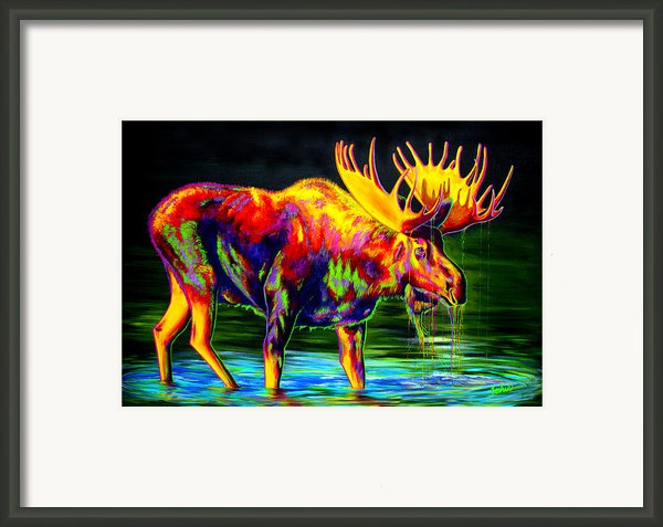 Motley Moose Framed Print By Teshiaart
