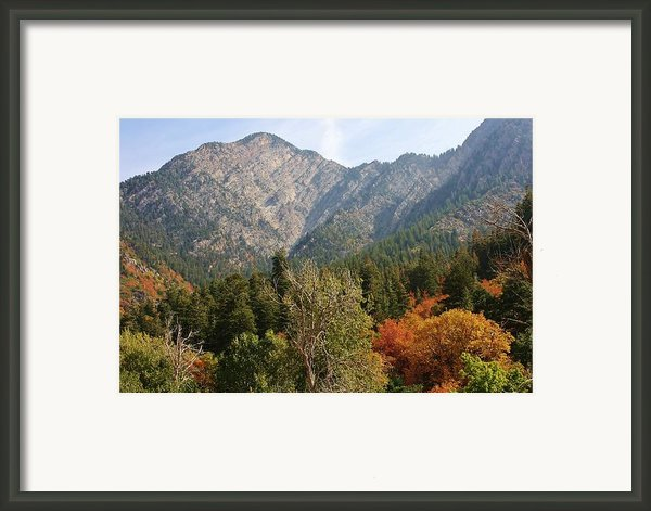 Mountain Escape Framed Print By Bruce Bley