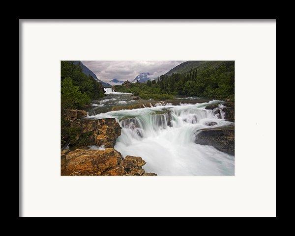 Mountain Paradise Framed Print By Mark Kiver