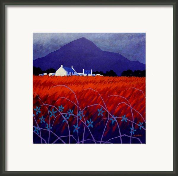 Mountain View  Framed Print By John  Nolan