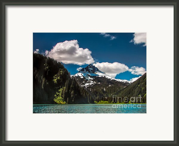 Mountain View Framed Print By Robert Bales