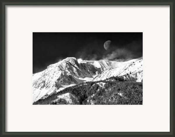Mountains Of The Moon Framed Print By Adele Buttolph