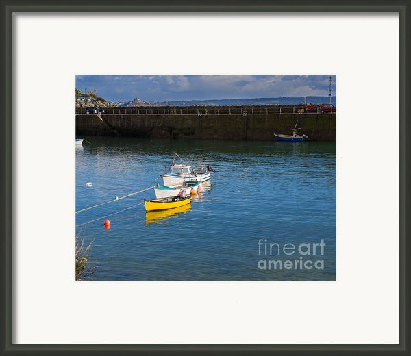 Mousehole Cornwall Framed Print By Louise Heusinkveld