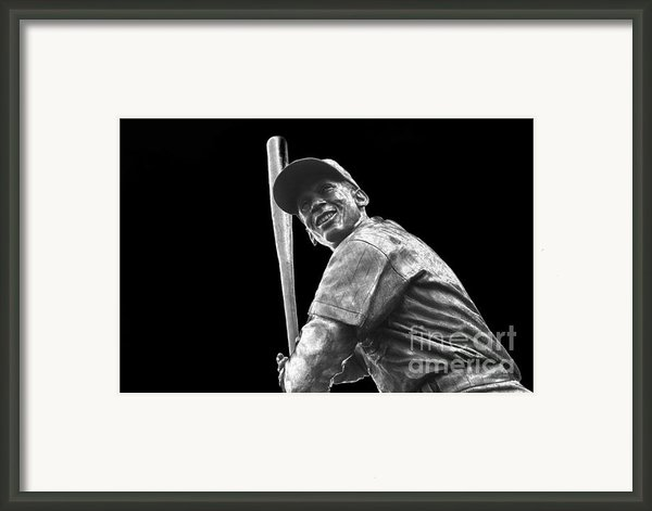 Mr. Cub Framed Print By David Bearden
