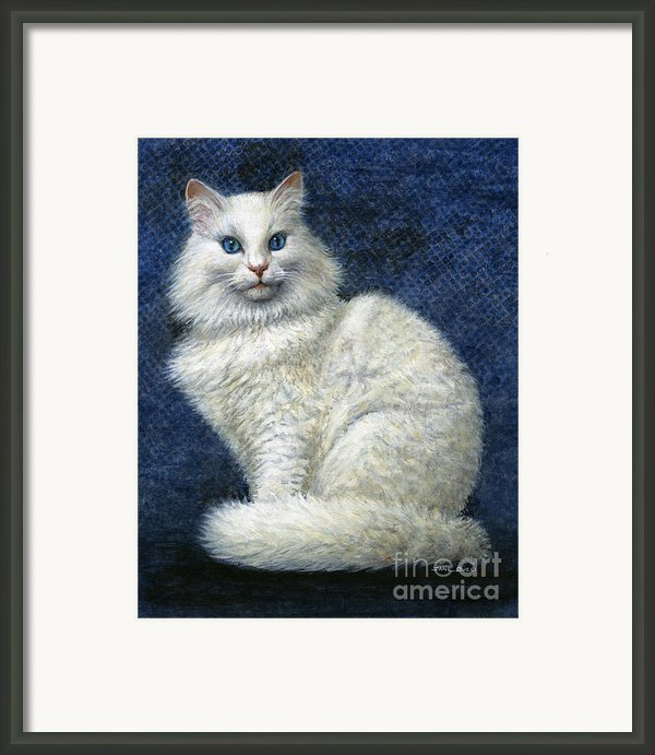 Mrs. Moon Framed Print By Jane Bucci