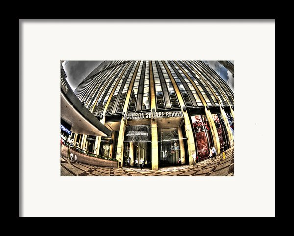 Msg Framed Print By Mike Lindwasser Photography