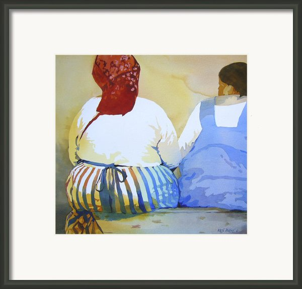 Muchachas Framed Print By Kris Parins