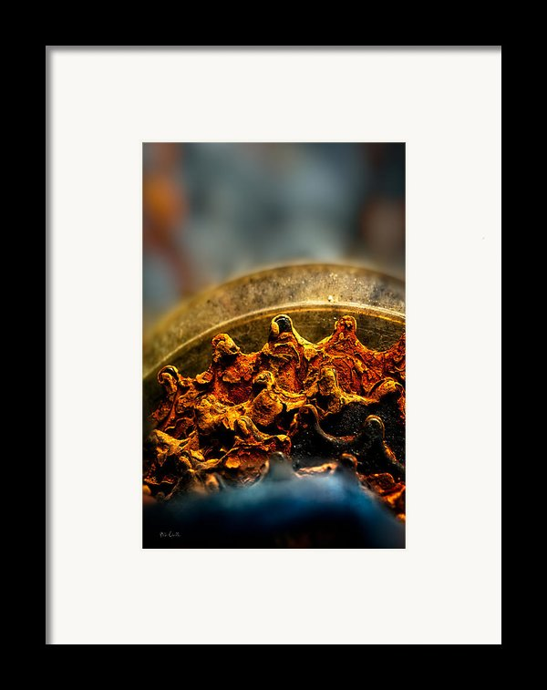 Muddy Rusty Sprockets Framed Print By Bob Orsillo