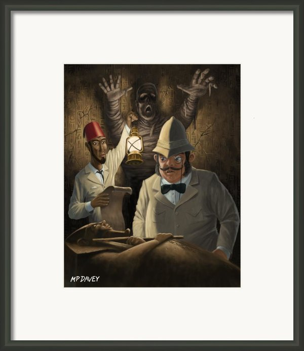 Mummy Awake Framed Print By Martin Davey
