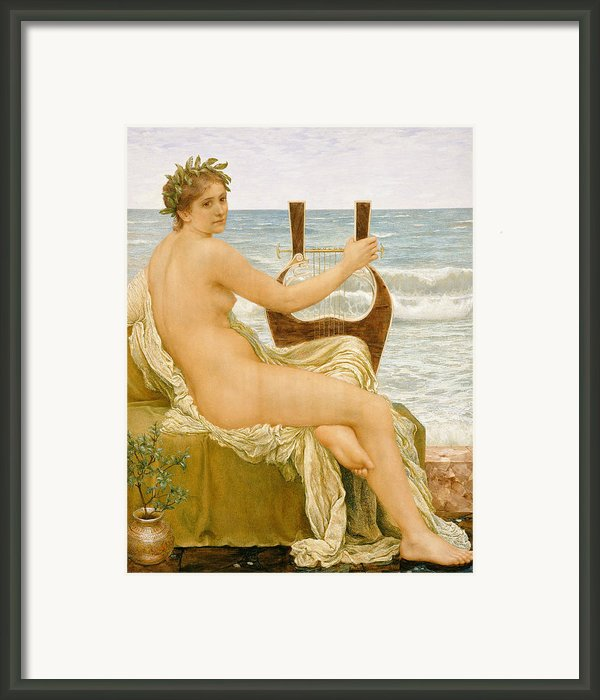 Music Framed Print By Henry Holiday