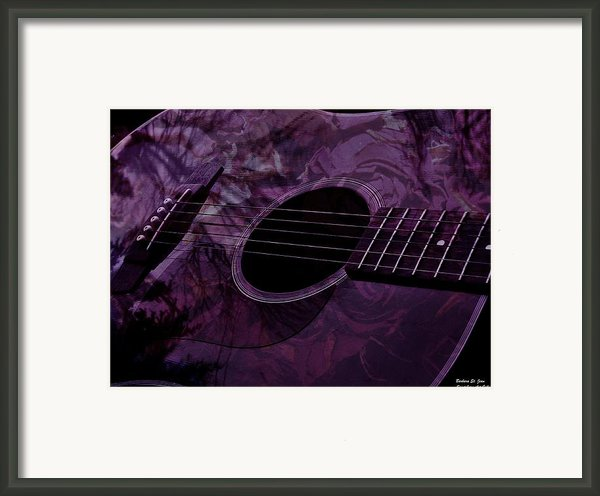 Music Of The Roses Framed Print By Barbara St Jean