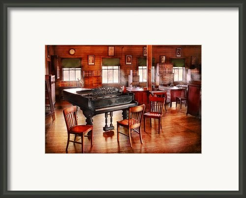 Music - Piano - The Grand Piano Framed Print By Mike Savad
