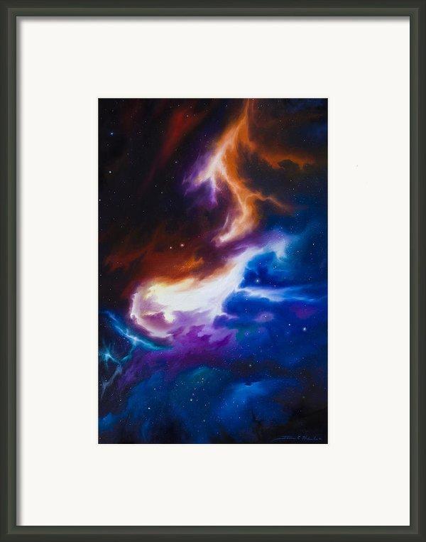 Mutara Nebula Framed Print By James Christopher Hill