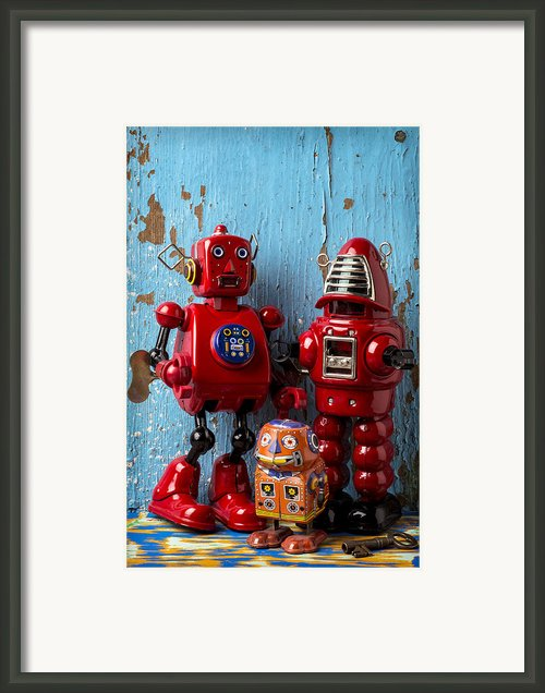 My Bots Framed Print By Garry Gay