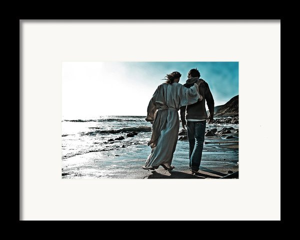 My Friend  Framed Print By Helen Thomas Robson