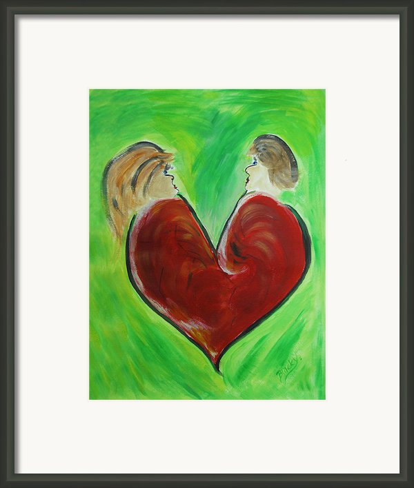 My Funny Valentine Framed Print By Donna Blackhall