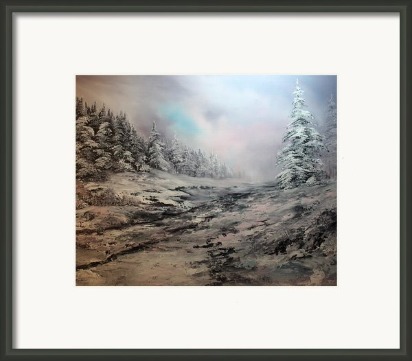 My Idea Of Heaven Framed Print By Jean Walker