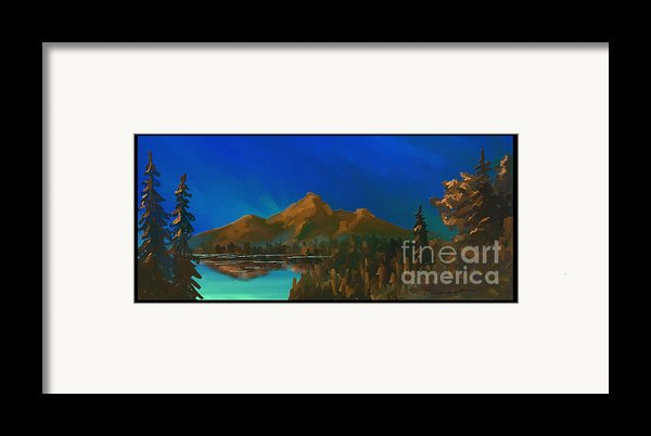My Kind Of Peace Framed Print By Steven Lebron Langston